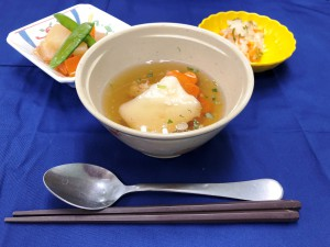1月1日、お雑煮、三食なます、かぶの煮物